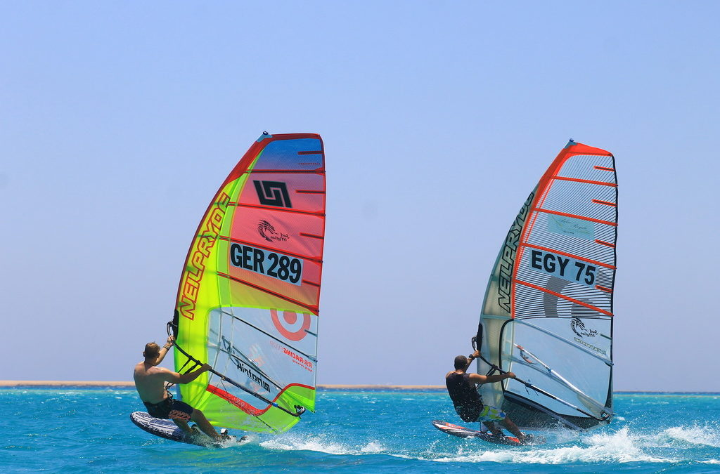 Windsurfcamp in Egypt